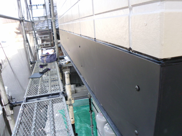 ベランダ板金工事DSCI1387