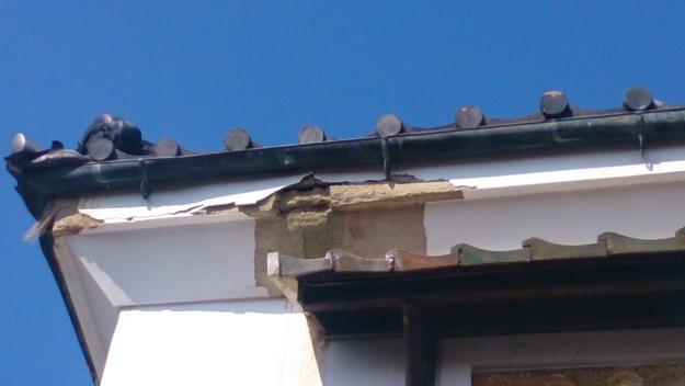 今月の雨漏り点検修理雨漏りの原因箇所DSC_3043