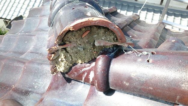 今月の雨漏り点検修理雨漏りの原因箇所DSC_3110