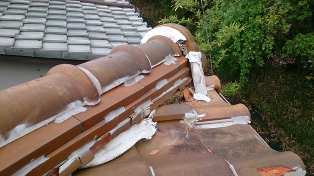 今月の雨漏り点検修理雨漏りの原因箇所DSC_3545