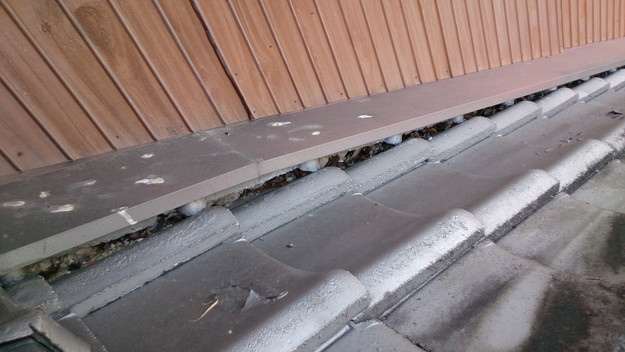 今月の雨漏り点検修理雨漏りの原因箇所DSC_3566