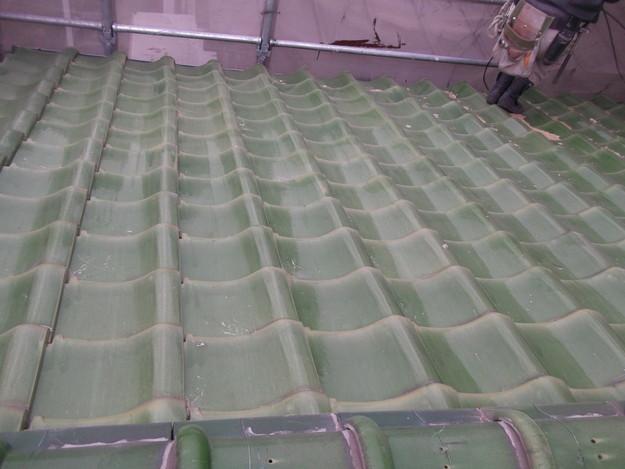 和風から洋風の屋根リフォーム葺き替え工事ビフォー写真DSCF2576