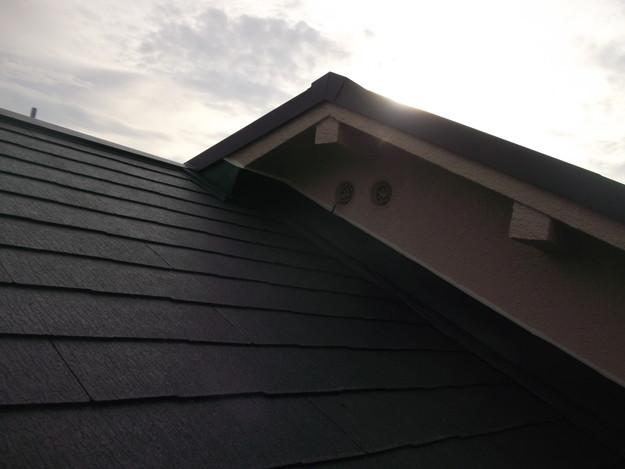 和風から洋風の屋根リフォーム葺き替え工事完了DSCF2666