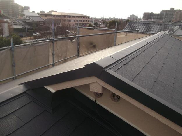 和風から洋風の屋根リフォーム葺き替え工事完了DSCF2667