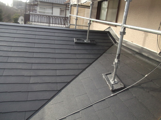 和風から洋風の屋根リフォーム葺き替え工事完了DSCF2670