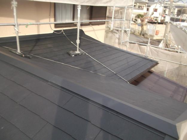 和風から洋風の屋根リフォーム葺き替え工事完了DSCF2673