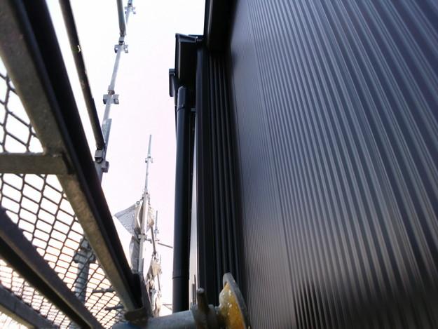 外壁サイディング工事神戸市施工中1460191651754