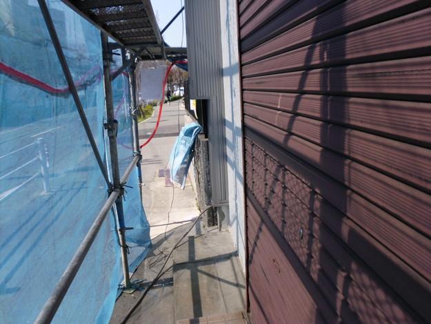 外壁サイディング工事神戸市施工前DSCI1269
