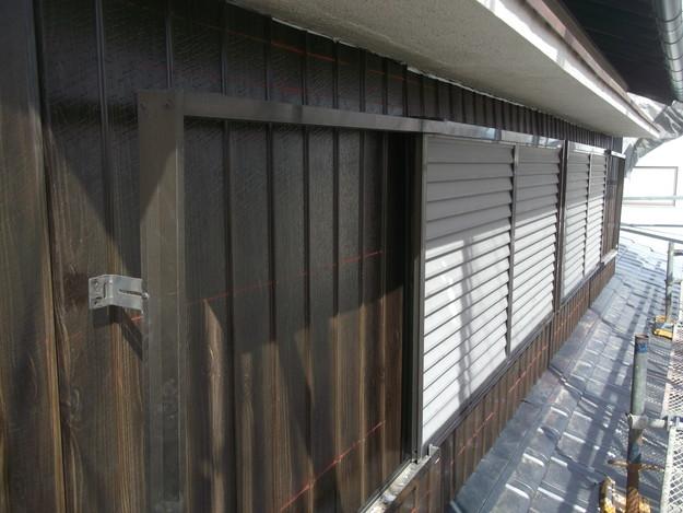 外壁リブトタン工事DSCF4131