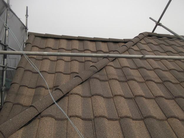 屋根のリフォーム完了写真DSCF2935