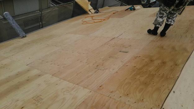 屋根のリフォーム葺き替え工事屋根補強1461820857520
