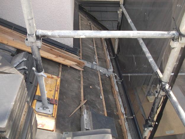 屋根のリフォーム葺き替え工事既存屋根解体DSCF4185