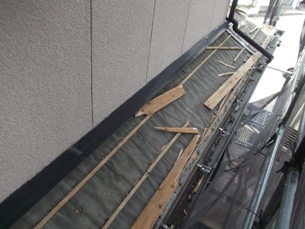 屋根のリフォーム葺き替え工事既存屋根解体DSCF4197