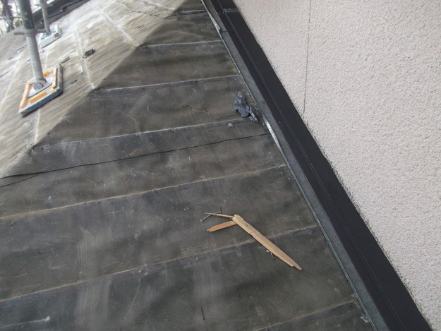屋根のリフォーム葺き替え工事既存屋根解体DSCF4199
