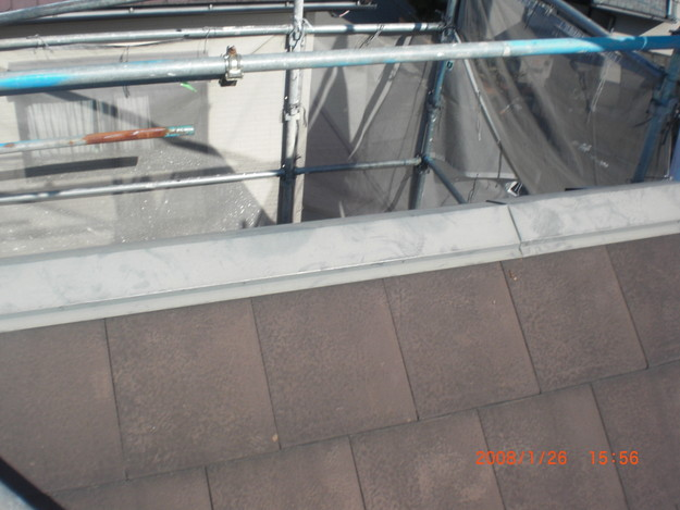 屋根修理棟板金工事と屋根裏換気システム設置CIMG2492