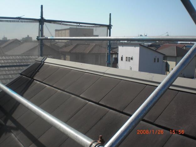 屋根修理棟板金工事と屋根裏換気システム設置CIMG2494
