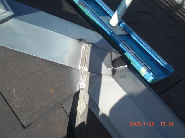 屋根修理棟板金工事と屋根裏換気システム設置CIMG2495