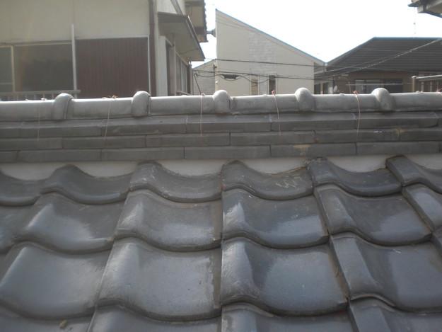 屋根修理棟瓦積替工事完了CIMG2312