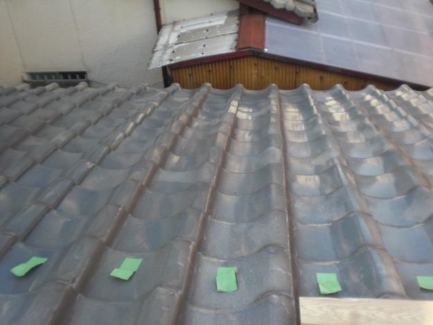 屋根修理棟瓦積替工事施工前CIMG2293