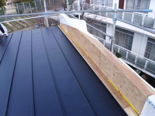屋根工事神戸市施工の様子DSCI1034