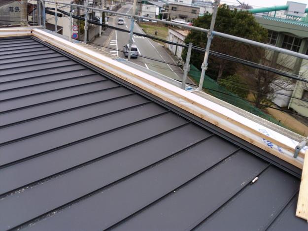 屋根工事神戸市施工の様子DSCI1202