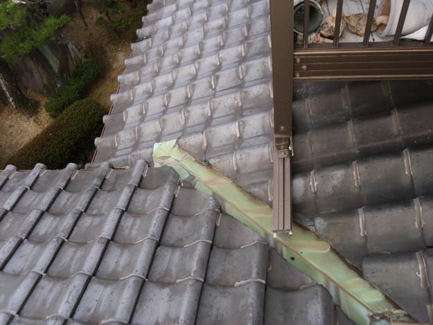 屋根板金と外壁トタンの交換工事施工前DSCI1177