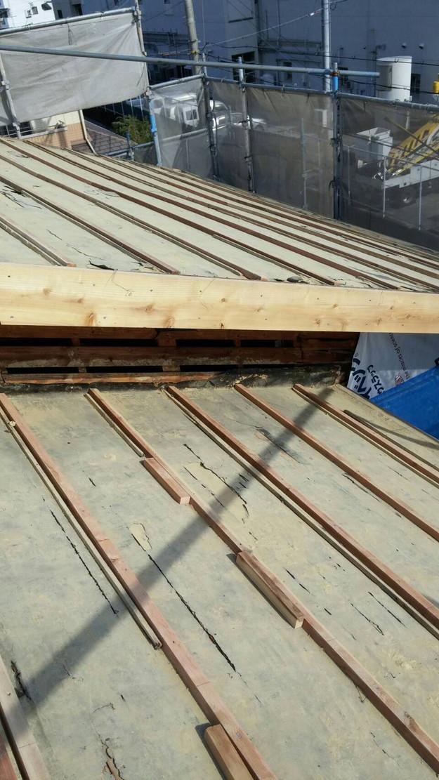 屋根補強工事1460900579612