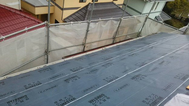 屋根防水シート敷設神戸市1461820867260