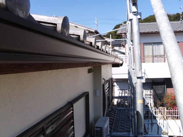 神戸市雨樋工事アフターDSCI1049