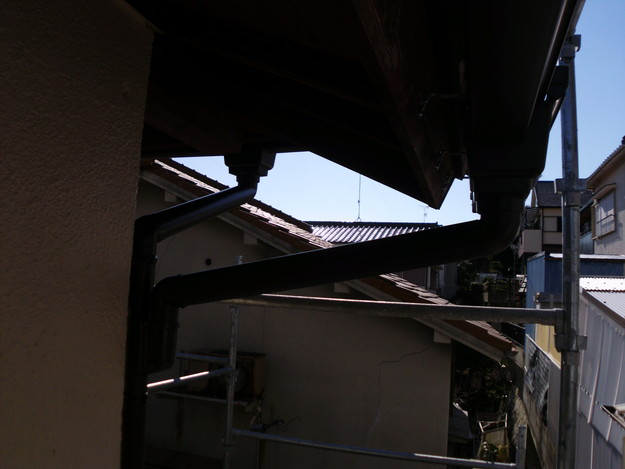 神戸市雨樋工事アフターDSCI1056