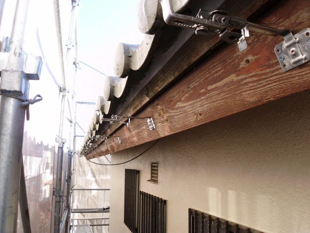神戸市雨樋工事施工中DSCI1042