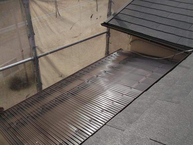 雨樋工事と波板設置DSCF2661