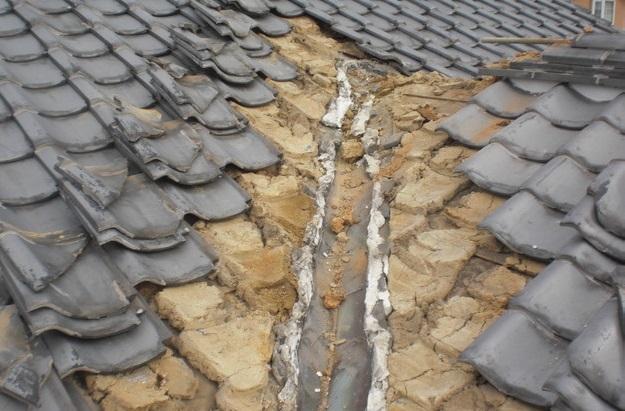 雨漏り・台風対策屋根メンテナンス工事中CIMG2443