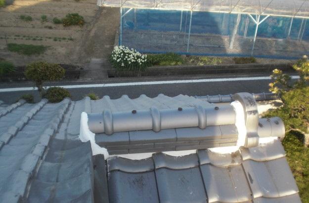 雨漏り・台風対策屋根メンテナンス工事中CIMG2462