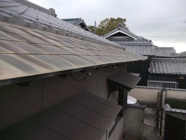 雨漏り・台風対策屋根メンテナンス工事中DSCF4219
