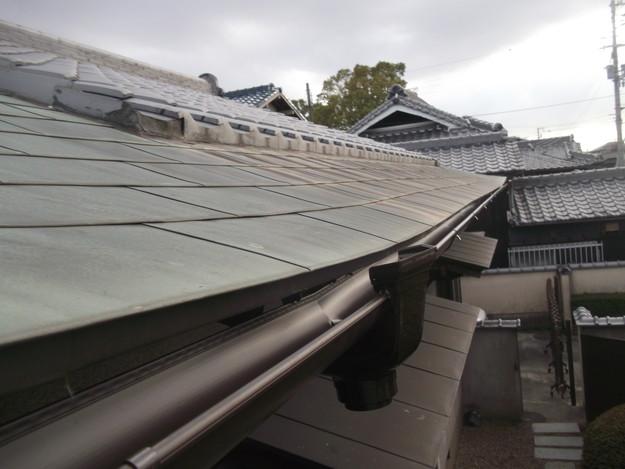 雨漏り・台風対策屋根メンテナンス工事中DSCF4222