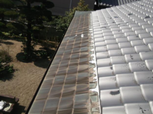 雨漏り・台風対策屋根メンテナンス工事中DSCF4227