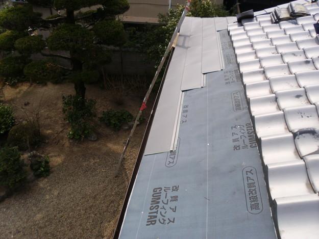 雨漏り・台風対策屋根メンテナンス工事中DSCI1279