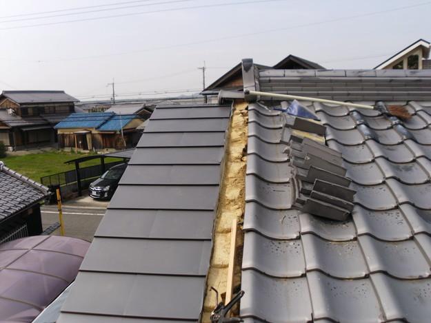 雨漏り・台風対策屋根メンテナンス工事中DSCI1280