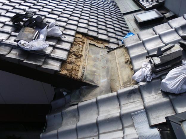 雨漏り・台風対策屋根メンテナンス工事中DSCI1297