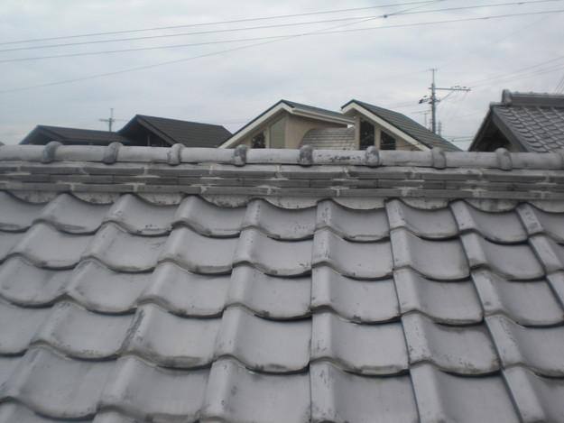 雨漏り・台風対策屋根メンテナンス工事施工前CIMG2403