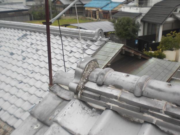 雨漏り・台風対策屋根メンテナンス工事施工前CIMG2404