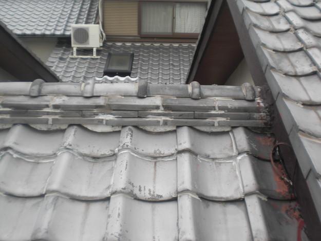 雨漏り・台風対策屋根メンテナンス工事施工前CIMG2405