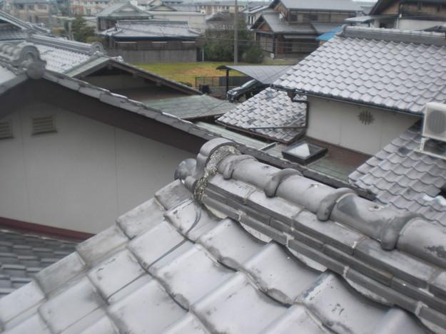 雨漏り・台風対策屋根メンテナンス工事施工前CIMG2409