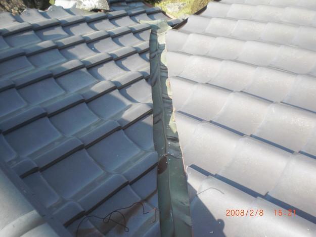 雨漏り・台風対策屋根修理ビフォーCIMG2574