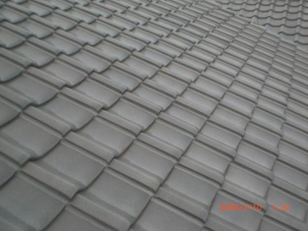 雨漏り・台風対策屋根修理施工中CIMG2604