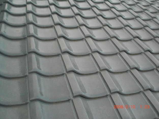 雨漏り・台風対策屋根修理施工中CIMG2605