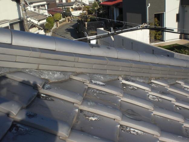 雨漏り対策修理施工前CIMG2320