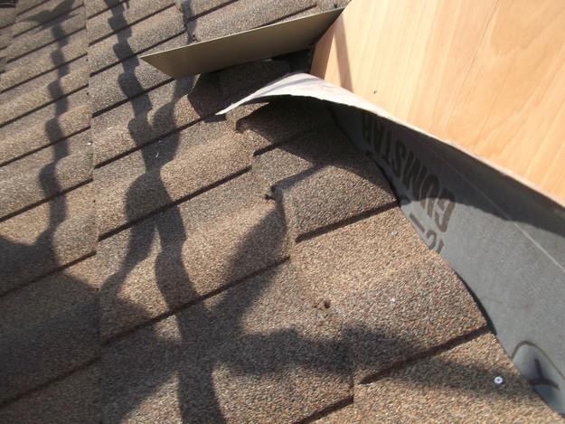 高級高性能洋風金属瓦によるカバー工法屋根リフォーム工事DSCF2801