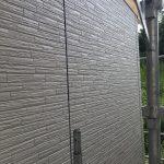 増築部 外壁コーキング工事 ビフォーアフター